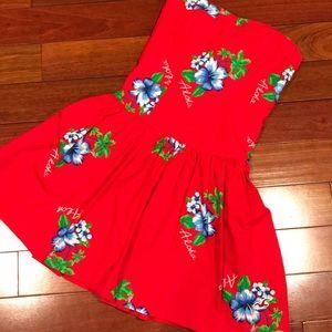 Hollister flowered 🌺 short dress
